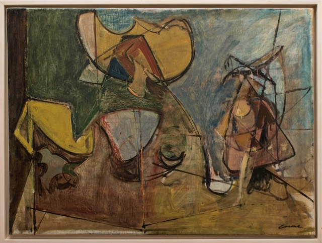 Untitled 1948 Oil On Linen 25 X 32 Inches Estate Of